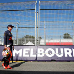 MELBOURNE, AUSTRALIA - MARCH 14: Max Verstappen of Netherlands and Red Bull Racing walks in the Pitlane during previews ahead of the F1 Grand Prix of Australia at Melbourne Grand Prix Circuit on March 14, 2019 in Melbourne, Australia. (Photo by Mark Thompson/Getty Images) // Getty Images / Red Bull Content Pool  // AP-1YQDUJ4GD1W11 // Usage for editorial use only // Please go to www.redbullcontentpool.com for further information. //