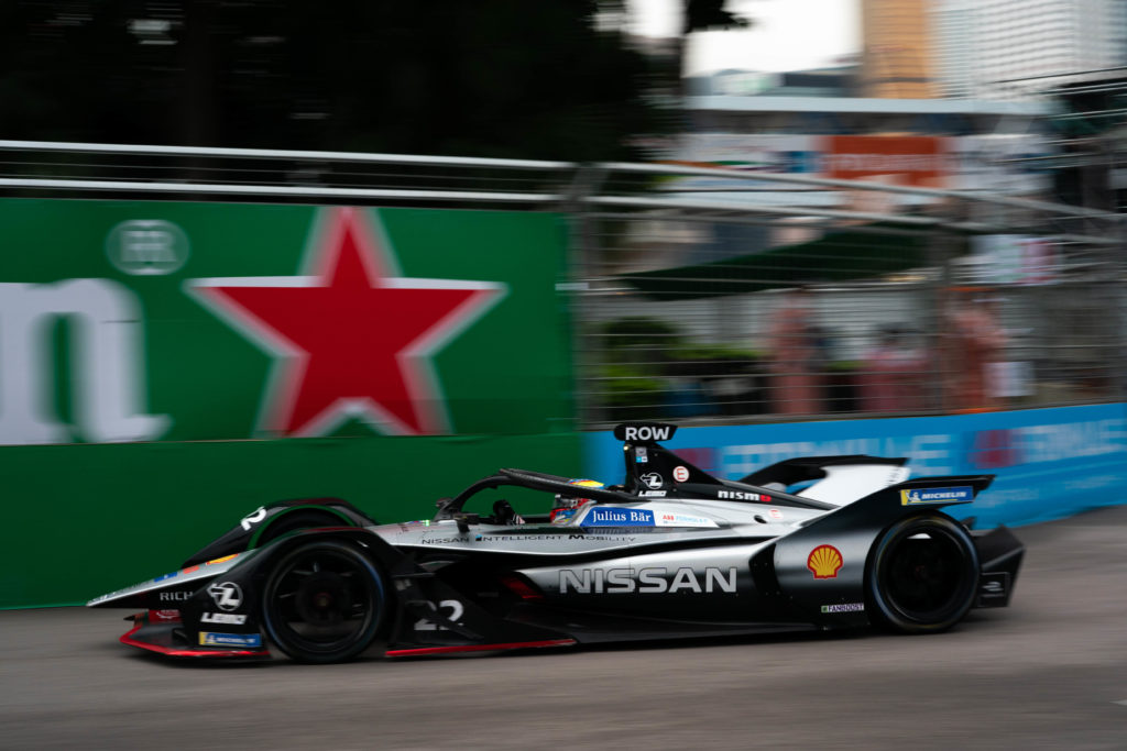 Oliver Rowland helemaal gelukkig bij Nissan e-Dams Formule E team