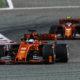 Vettel voor Leclerc