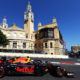 BAKU, AZERBAIJAN - APRIL 27: Max Verstappen of the Netherlands driving the (33) Aston Martin Red Bull Racing RB15 on track during final practice for the F1 Grand Prix of Azerbaijan at Baku City Circuit on April 27, 2019 in Baku, Azerbaijan. (Photo by Mark Thompson/Getty Images) // Getty Images / Red Bull Content Pool  // AP-1Z5MUM7K12511 // Usage for editorial use only // Please go to www.redbullcontentpool.com for further information. //