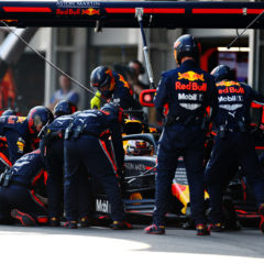 Red Bull in pit