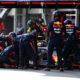 Red Bull in pit