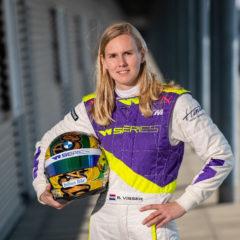 Visser is één van de achttien deelnemers aan de W Series