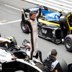 Race Winner Nyck De Vries (NLD, ART GRAND PRIX) celebrates in Parc ferme