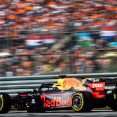 SPIELBERG, AUSTRIA - JUNE 29: Max Verstappen of the Netherlands driving the (33) Aston Martin Red Bull Racing RB15 on track during qualifying for the F1 Grand Prix of Austria at Red Bull Ring on June 29, 2019 in Spielberg, Austria. (Photo by Lars Baron/Getty Images) // Getty Images / Red Bull Content Pool // AP-1ZSYA54452111 // Usage for editorial use only // Please go to www.redbullcontentpool.com for further information. //
