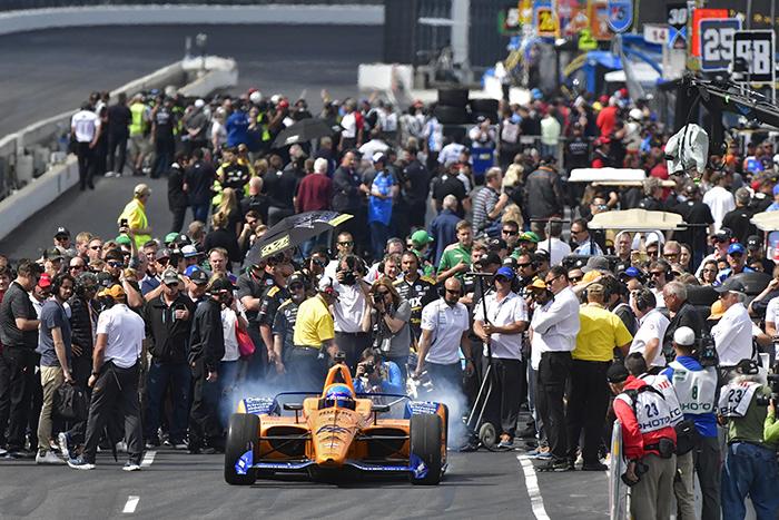 Fernando Alonso, Indy 500, Qualifying Indianapolis Motor Speedway Sunday, May 19, 2019 ©2018 Walt Kuhn