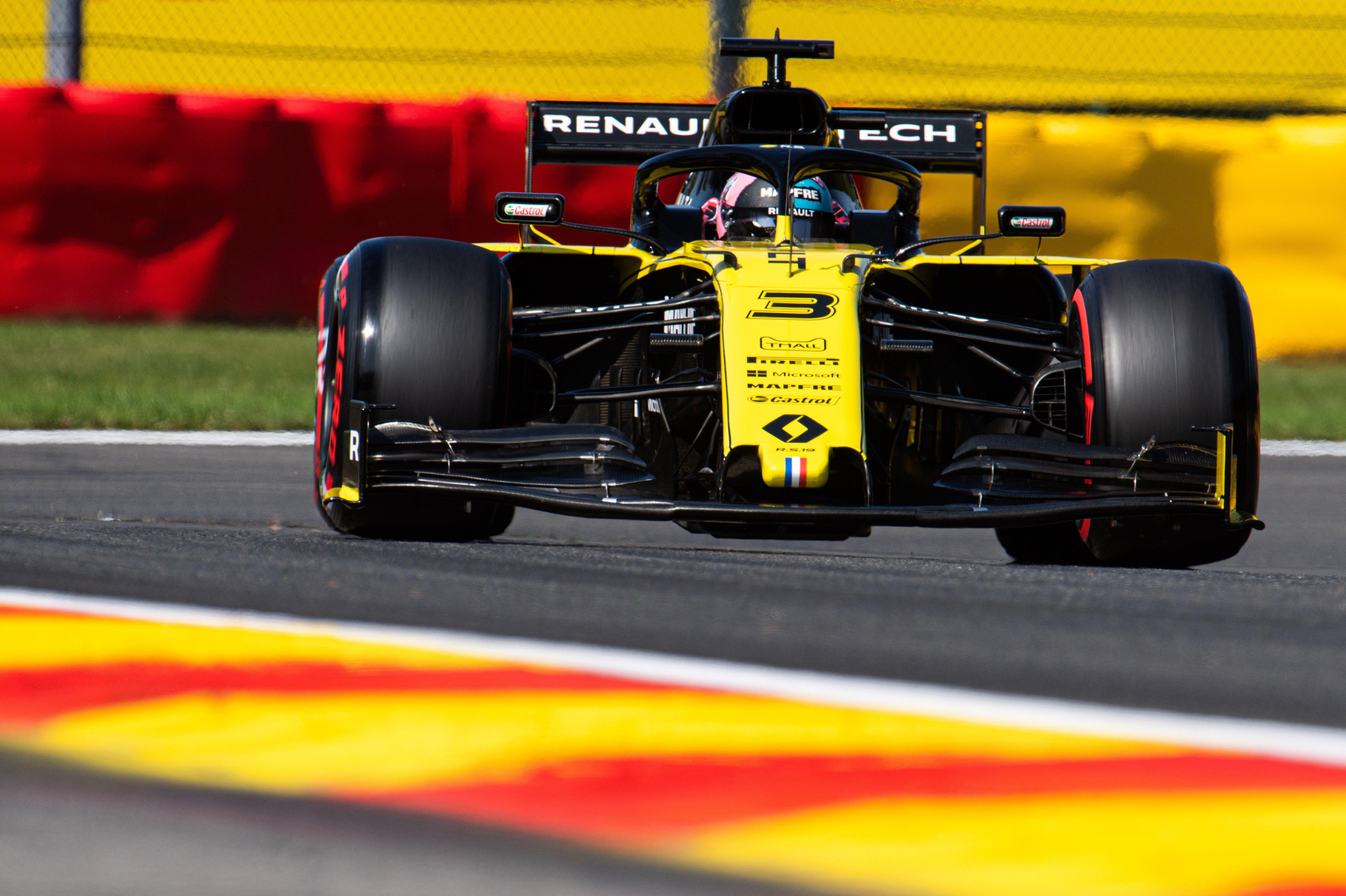 Daniel Ricciardo (AUS) Renault F1 Team RS19. Belgian Grand Prix, Saturday 31st August 2019. Spa-Francorchamps, Belgium.