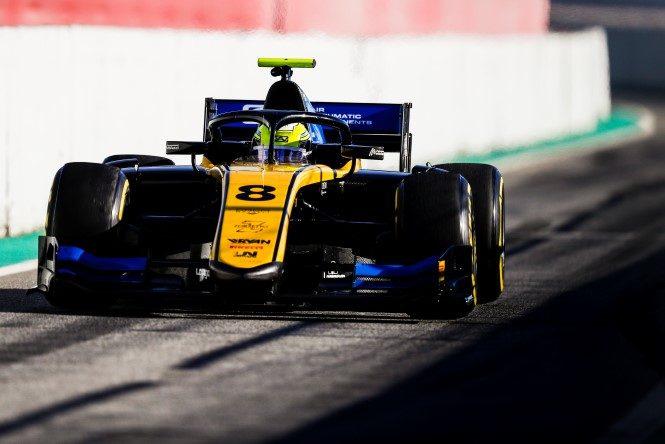 FIA Formula 2 Championship - Testing Circuit de Barcelona-Catalunya, Spain Thursday 7 March 2019 Luca Ghiotto (ITA, UNI VIRTUOSI) Photo: Glenn Dunbar / FIA F2 Championship ref: Digital Image