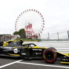 Nico Hulkenberg (GER) Renault F1 Team RS19. Japanese Grand Prix, Friday 11th October 2019. Suzuka, Japan.