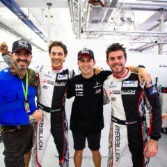 #1 REBELLION RACING / CHE / Rebellion R-13 -Gibson - Norman Nato (FRA) / Gustavo Menezes (USA) / Bruno Senna (BRA) - - Bapco 8 hours of Bahrain - Bahrain International Circuit - Sakhir - Bahrain