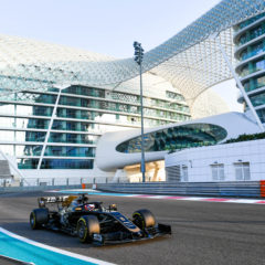 YAS MARINA CIRCUIT, UNITED ARAB EMIRATES - DECEMBER 03: Romain Grosjean, Haas VF-19 during the Abu Dhabi December Testing at Yas Marina Circuit on December 03, 2019 in Yas Marina Circuit, United Arab Emirates. (Photo by Mark Sutton / Sutton Images)