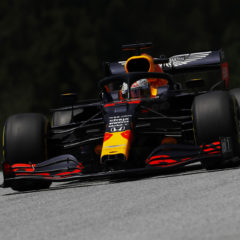 SPIELBERG, AUSTRIA - JULY 04: Max Verstappen of the Netherlands driving the (33) Aston Martin Red Bull Racing RB16 on track during final practice for the Formula One Grand Prix of Austria at Red Bull Ring on July 04, 2020 in Spielberg, Austria. (Photo by Leonhard Foeger/Pool via Getty Images)