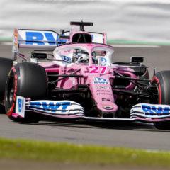 Nico Hulkenberg in de Racing Point