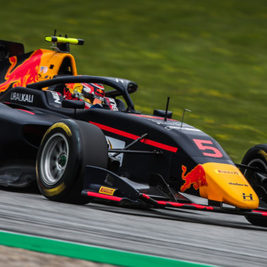 Liam Lawson #5 Hitech GP performs during FIA Formula 3 Championship at the Red Bull Ring on  JUL 2-5 2020. // Dutch Photo Agency/Red Bull Content Pool // AP-24HB7WSJH2111 // Usage for editorial use only //