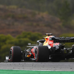 PORTIMAO, PORTUGAL - OCTOBER 25: Max Verstappen of the Netherlands driving the (33) Aston Martin Red Bull Racing RB16 on track during the F1 Grand Prix of Portugal at Autodromo Internacional do Algarve on October 25, 2020 in Portimao, Portugal. (Photo by Rudy Carezzevoli/Getty Images)