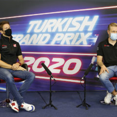 GROSJEAN Romain (fra), Haas F1 Team VF-20 Ferrari, portrait MAGNUSSEN Kevin (dnk), Haas F1 Team VF-20 Ferrari, portrait during press conference of the Formula 1 DHL Turkish Grand Prix 2020, from November 13 to 15, 2020 on the  Intercity Istanbul Park, in Tuzla, near Istanbul, Turkey - Photo Antonin Vincent / DPPI