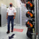 SPIELBERG, AUSTRIA - JULY 05: Red Bull Racing Team Consultant Dr Helmut Marko walks into the garage before the Formula One Grand Prix of Austria at Red Bull Ring on July 05, 2020 in Spielberg, Austria. (Photo by Getty Images/Getty Images) // Getty Images / Red Bull Content Pool // SI202007050841 // Usage for editorial use only //