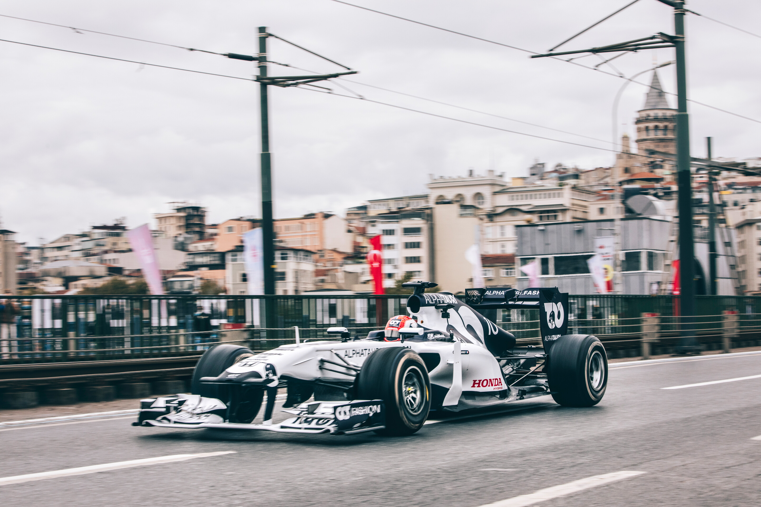 Pierre Gasly performs during Project Istanbulls in Istanbul, Turkey on November 10, 2020 // Nuri Yilmazer/Red Bull Content Pool // SI202011110003 // Usage for editorial use only //