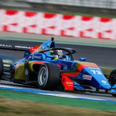 Hockenheim (GER), NOV 6-8 2020 - 9th round of the 2020 Formula Renault Eurocup at Hockenheimring. Tijmen van der Helm #73, FA Racing. © 2020 Sebastiaan Rozendaal / Dutch Photo Agency.