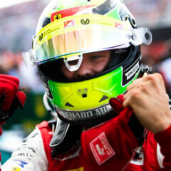 HUNGARORING, HUNGARY - AUGUST 04: HUNGARORING, HUNGARY - AUGUST 04: Mick Schumacher (DEU, PREMA RACING) during the Hungaroring at Hungaroring on August 04, 2019 in Hungaroring, Hungary. (Photo by Joe Portlock / LAT Images / FIA F2 Championship) during the Hungaroring at Hungaroring on August 04, 2019 in Hungaroring, Hungary. (Photo by Joe Portlock / LAT Images)