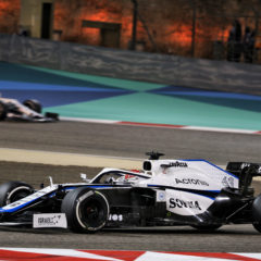 George Russell (GBR) Williams Racing FW43. Bahrain Grand Prix, Sunday 29th November 2020. Sakhir, Bahrain.