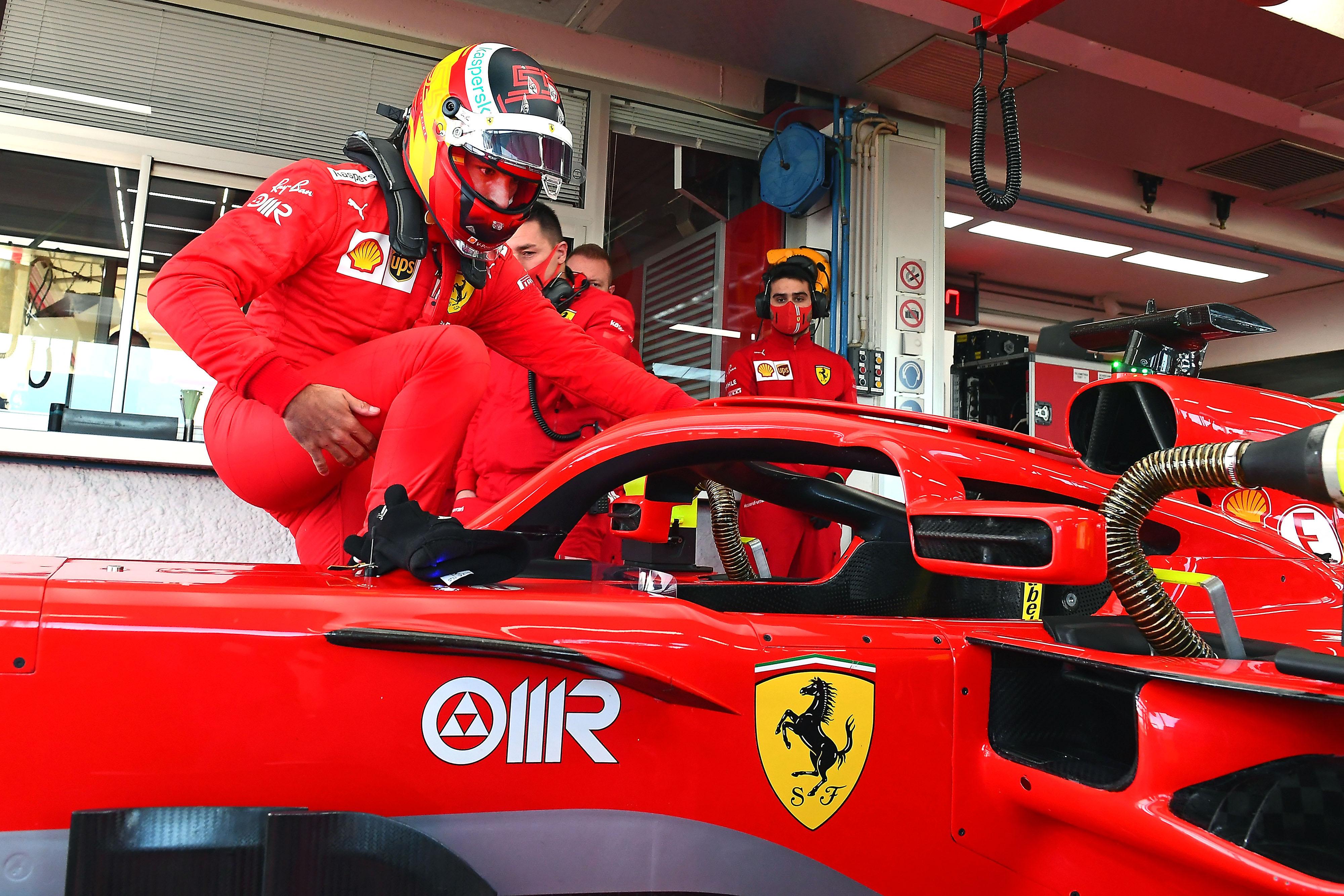 FERRARI F1 TEST FIORANO - MERCOLEDI 27/01/2021 credit: @Scuderia Ferrari Press Office