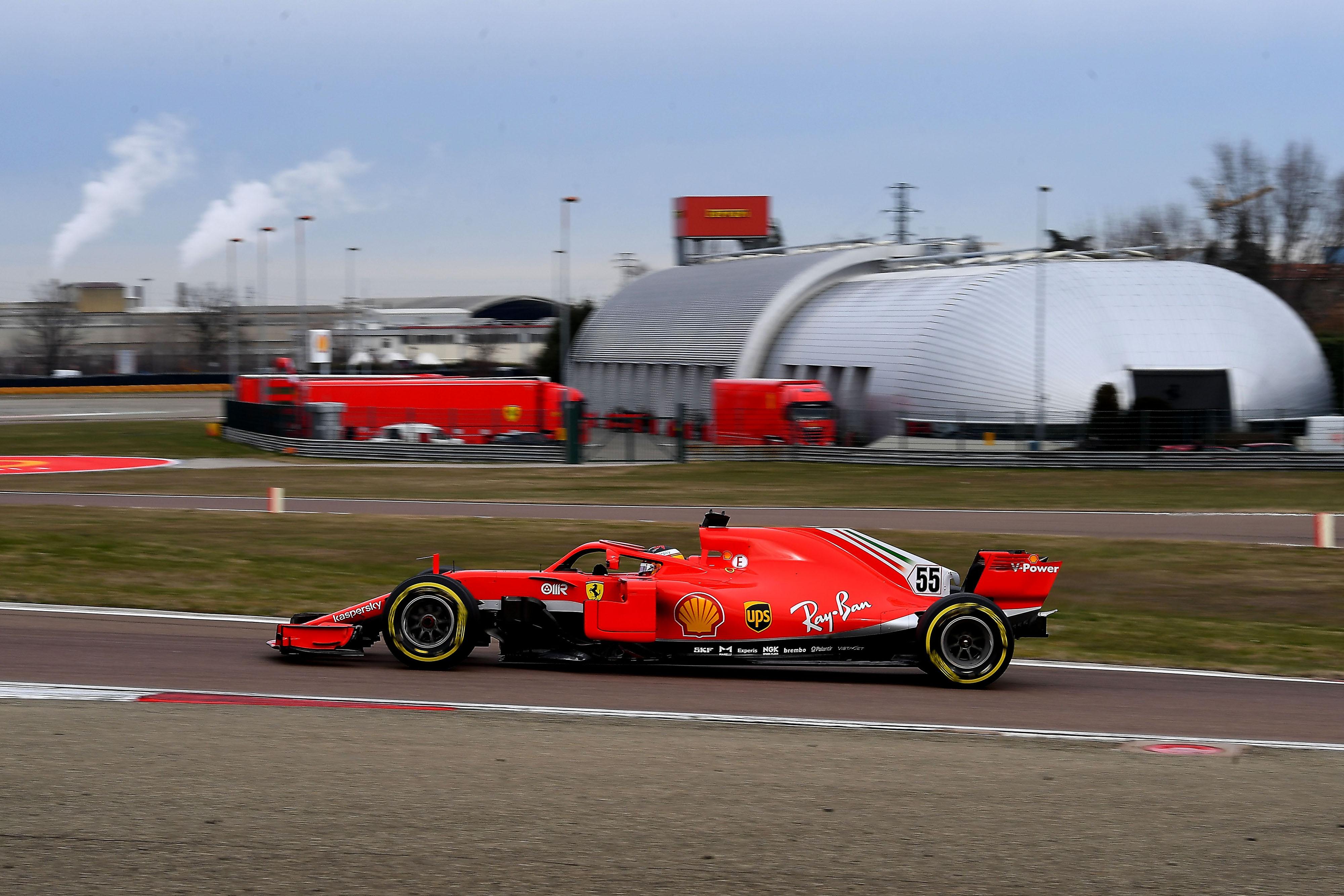 F1 TEST FIORANO - MERCOLEDì  27/01/21 - CARLOS SAINZ   credit: @Scuderia Ferrari Press Office