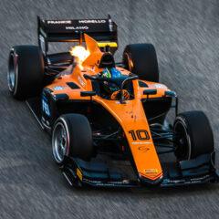 Bahrain (BAH) March 1-3, 2020 - Bahrain F2 and GP3 test at Bahrain International Circuit. Guilherme Samaia #10 Campos Racing. © 2020 Diederik van der Laan / Dutch Photo Agency
