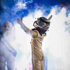 Race winner Nyck de Vries (NLD) Mercedes Benz EQ celebrates in Parc Ferme