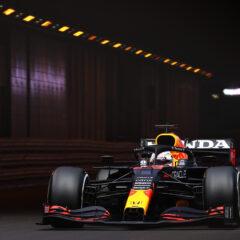 MONTE-CARLO, MONACO - MAY 23: Max Verstappen of the Netherlands driving the (33) Red Bull Racing RB16B Honda on track during the F1 Grand Prix of Monaco at Circuit de Monaco on May 23, 2021 in Monte-Carlo, Monaco. (Photo by Lars Baron/Getty Images) // Getty Images / Red Bull Content Pool  // SI202105230179 // Usage for editorial use only //