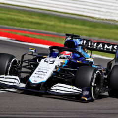George Russell (GBR) Williams Racing FW43B. British Grand Prix, Friday 16th July 2021. Silverstone, England.