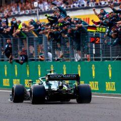 Aston Martin pakt P2 met Vettel, Stroll valt uit