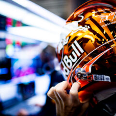Max Verstappen of Netherlands and Red Bull Racing gets ready during practice for the Belgian Formula One Grand Prix at Circuit de Spa-Francorchamps on August 27, 2021 in Spa-Francorchamps, Belgium. (Photograph by Vladimir Rys) // SI202108270424 // Usage for editorial use only //
