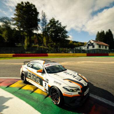 MAX VEELS & JACK VAN DER ENDE - BMW M2 CS Racing - Ferry Monster Autosport / BMW M2 CUP.NL - Spa Racing Festical at Spa-Francorchamps, Francorchamps, Belgium, October, 16, 2021, Photo: Rob Eric Blank